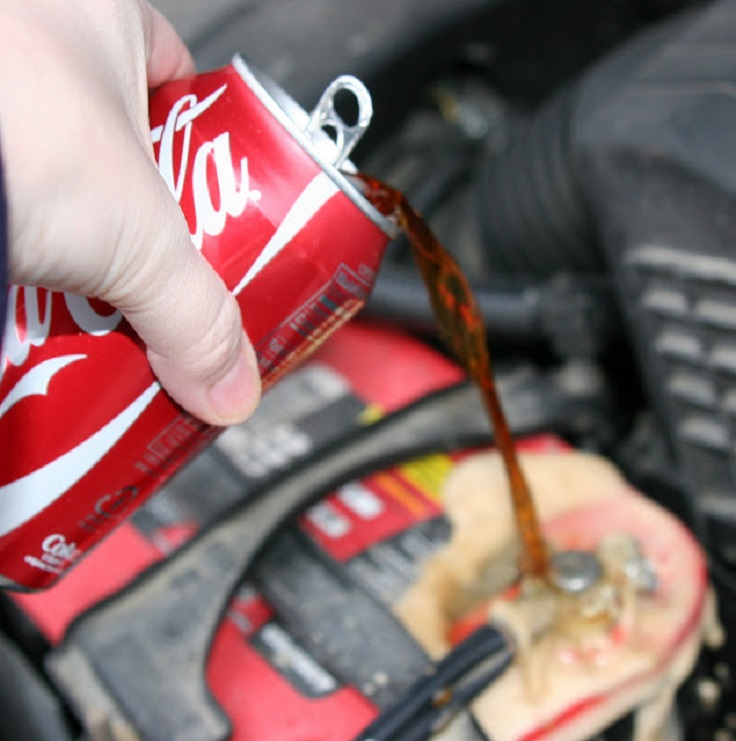 Cleaning-a-Car-Battery-With-Coca-Cola