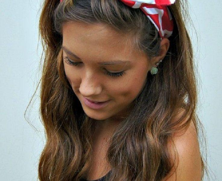 Bandana Hairstyles - Top 10 Simple Ways Tutorials - Top ...