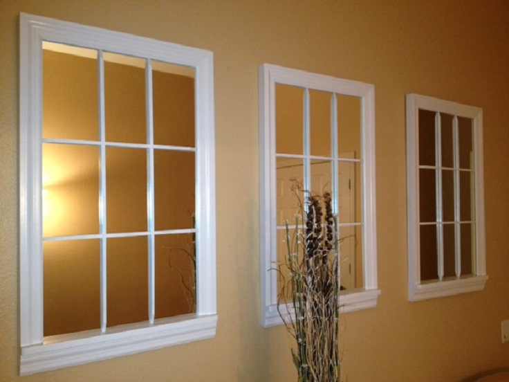 Top 10 inspiring ways to add a mirror to your home top Fake window for basement