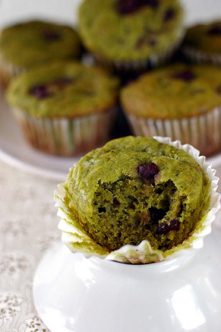 Green-Tea-Muffins