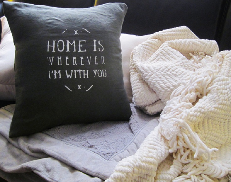 Quote-pillow