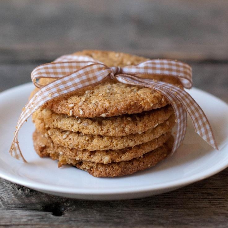 Sesame-Honey-Cookies