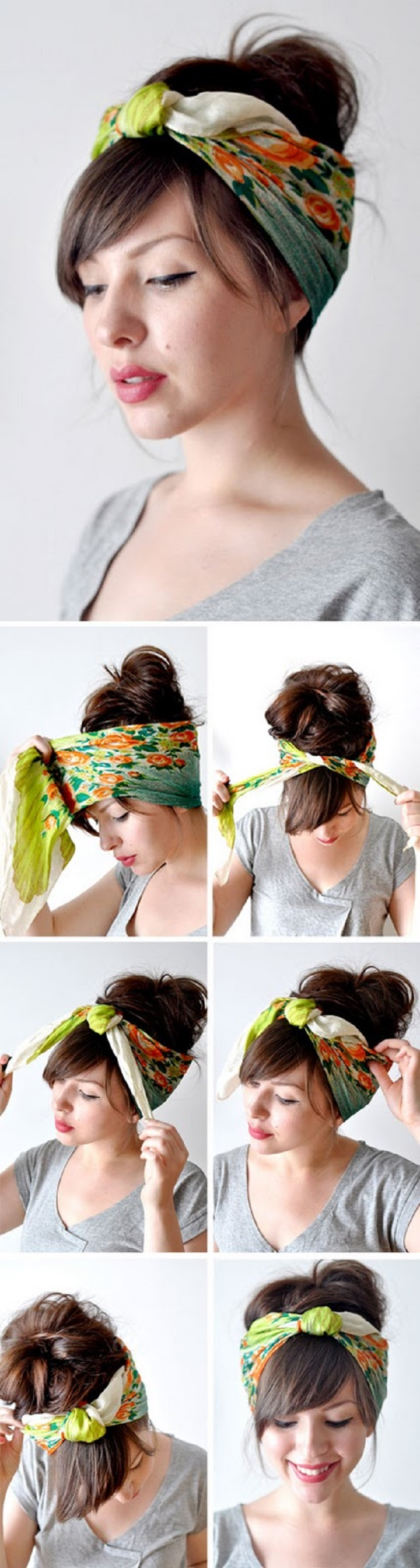 Bandana Hairstyles Top 10 Simple Ways Tutorials Top Inspired