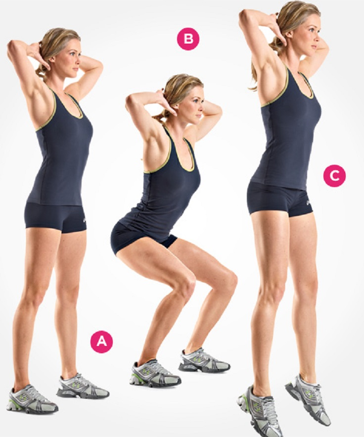 Top 10 Ways to Do Squats - Top Inspired