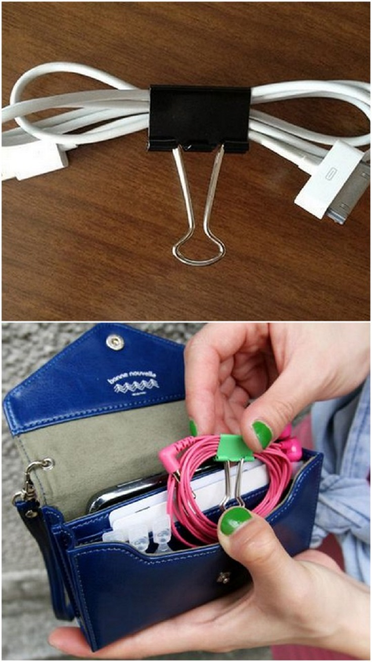 Top 10 DIY Creative Uses For Binder Clips
