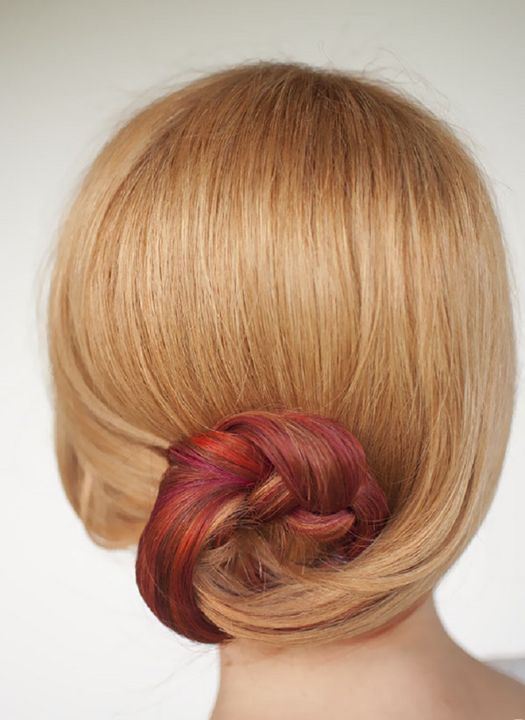 Top 10 Quick And Easy Hair Buns | Top Inspired