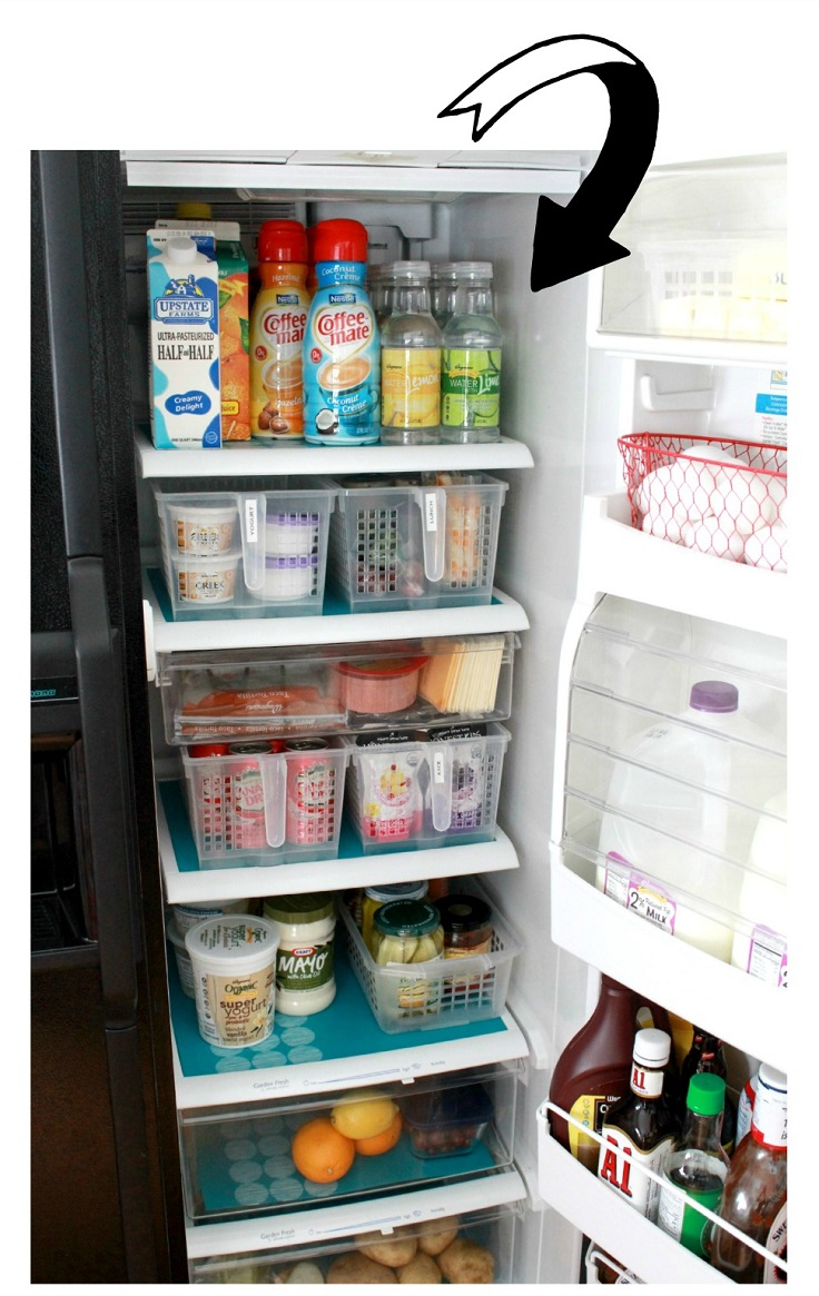 Top 10 Tips To Organize Your Fridge