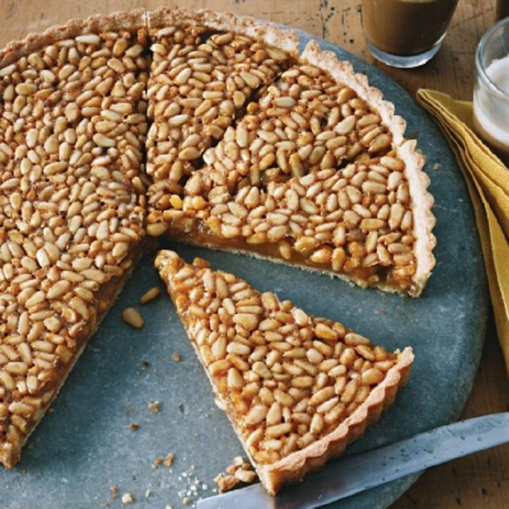 honey-pine-nut-tart