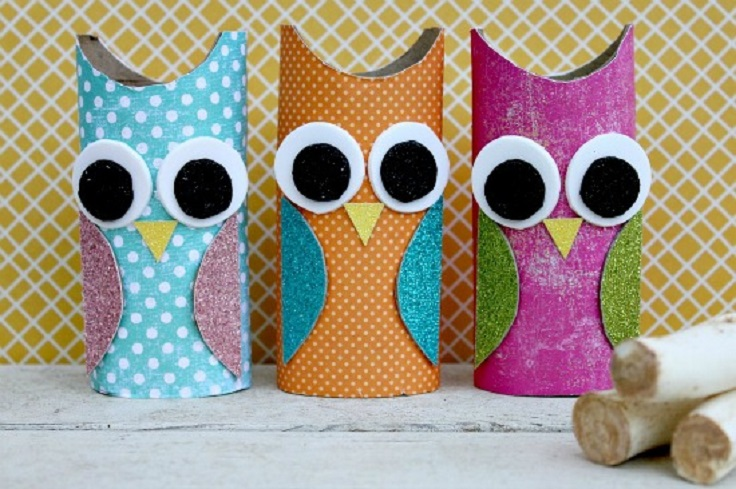 owl-paper-roll-craft