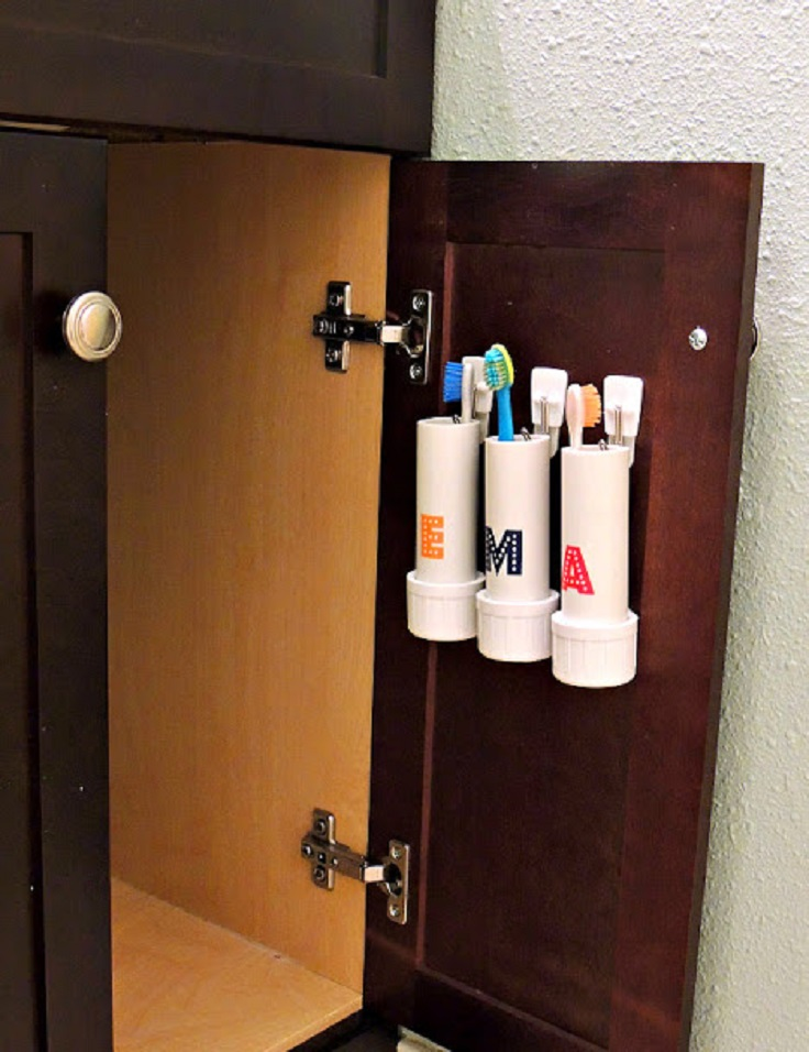 pvc-pipe-toothbrush-holders