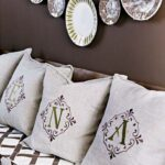 Top 10 DIY Stenciled Pillows   Top Inspired