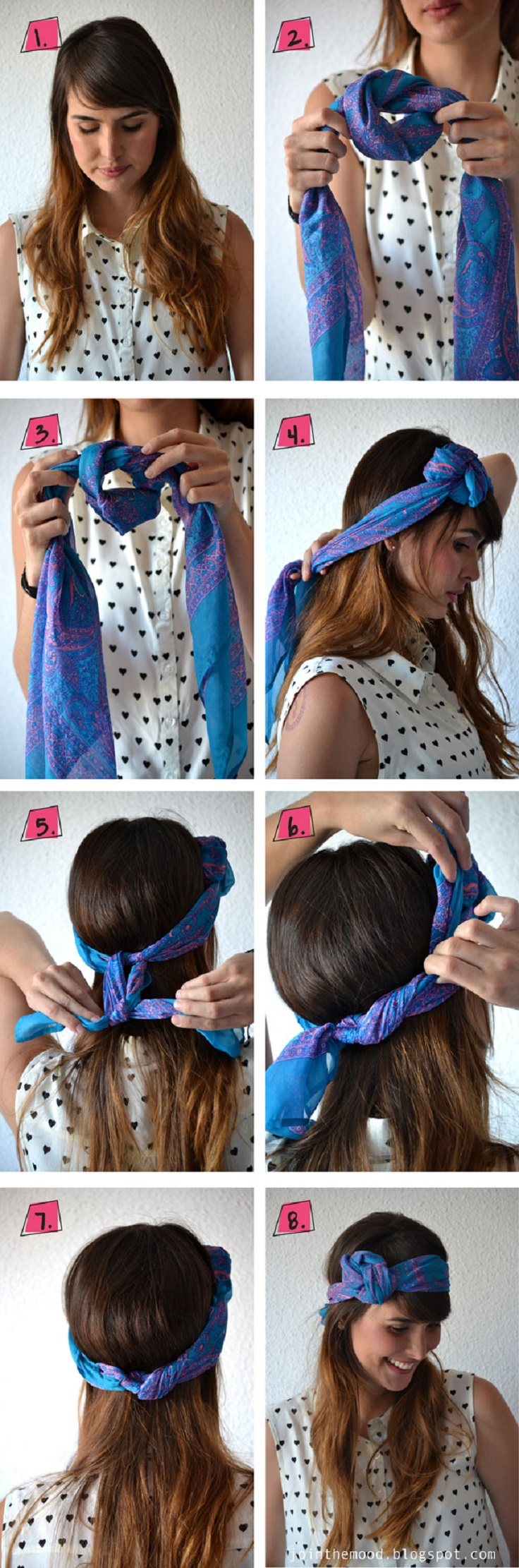 Bandana Hairstyles Top 10 Simple Ways Tutorials Top