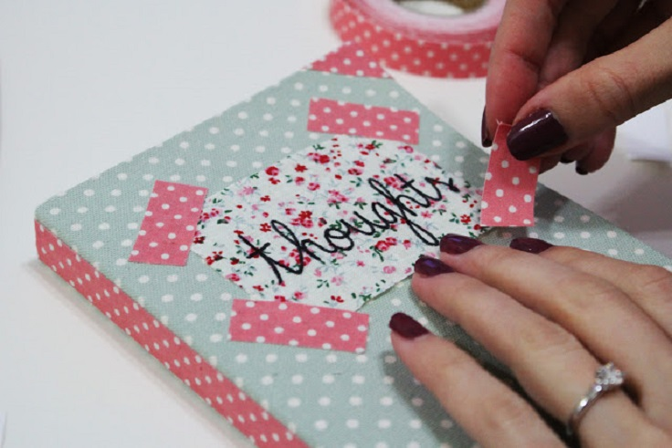 DIY-fabric-tape-notebook-cover