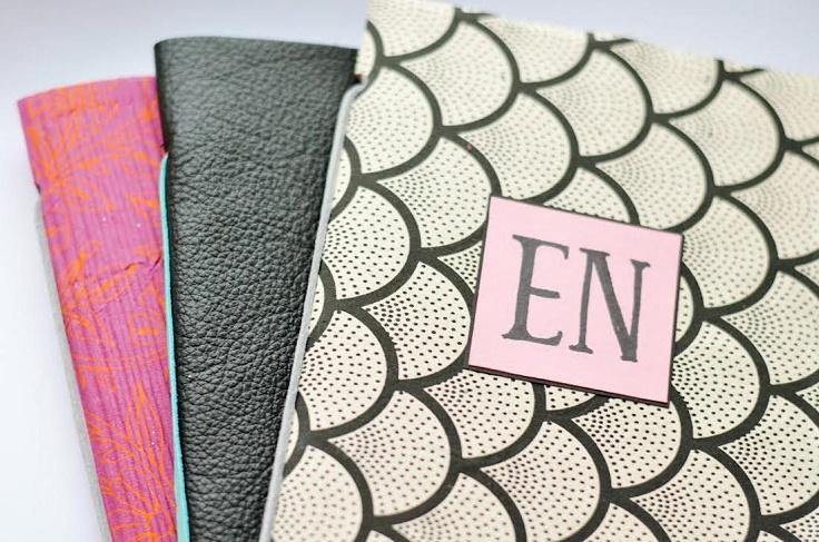 DIY-mongramm-notebook-covers