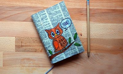 Top 10 DIY Unique Notebook Covers | Top Inspired