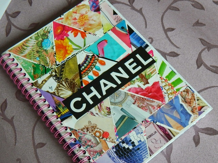 Make Collage Book Cover : Top diy unique notebook covers inspired