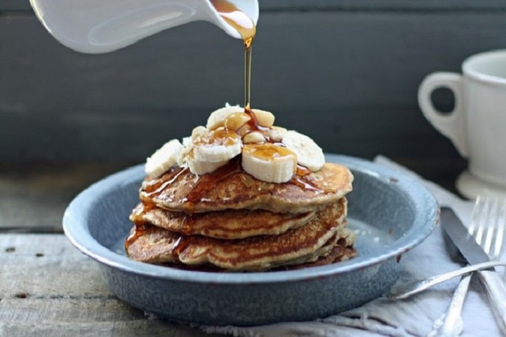 Macadamia-pancakes