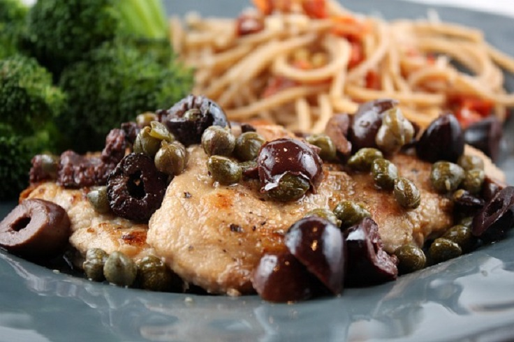 Pork-Medallions-with-Olive-Caper-Sauce