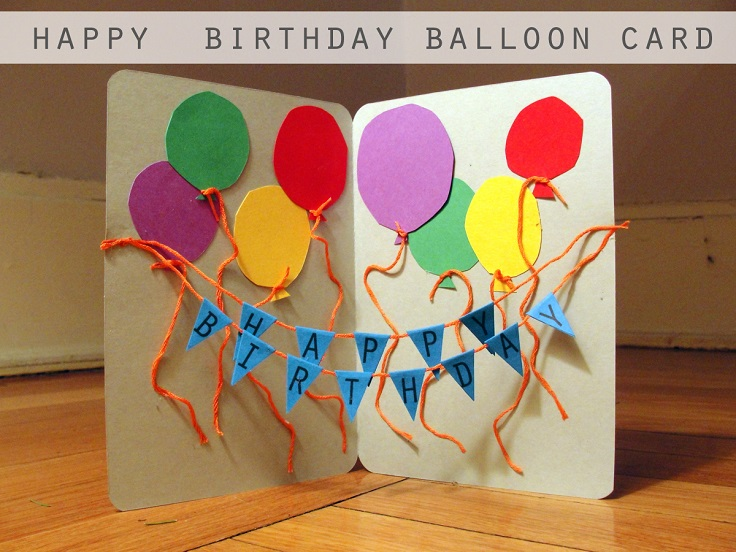 top  diy birthday cards easy to make  top inspired, Birthday card