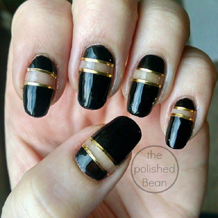 Top 10 Negative Space Nail Art Ideas