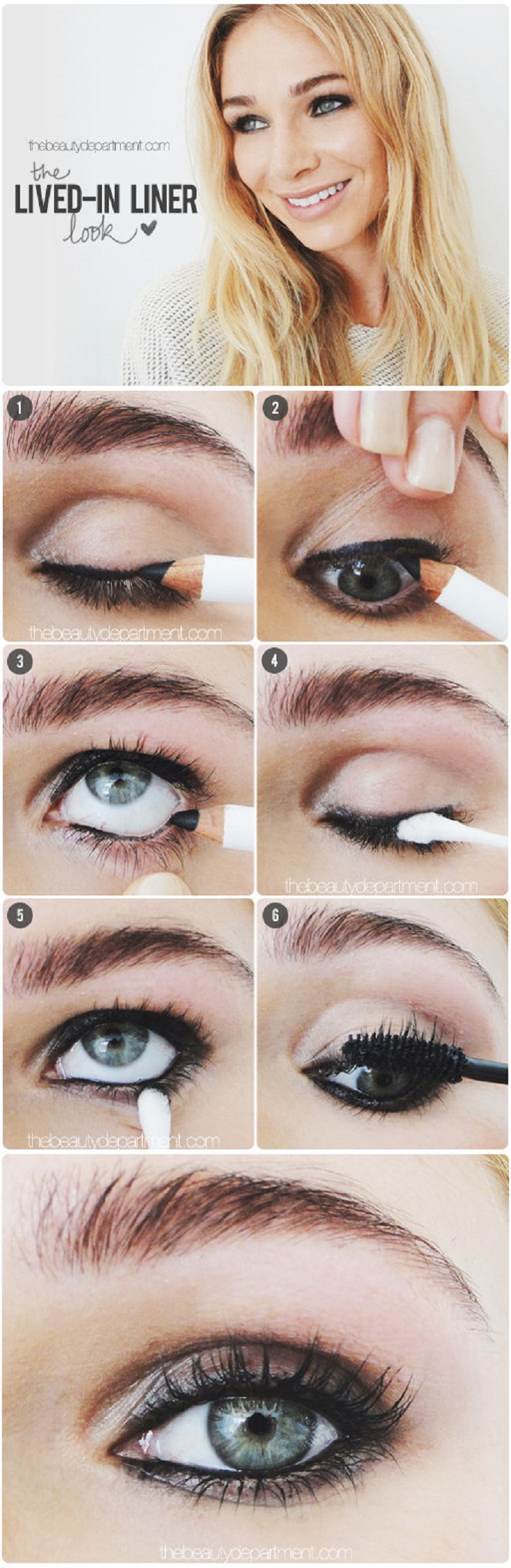 Top 10 Smudged Eyeliner Makeup Tutorials Top Inspired