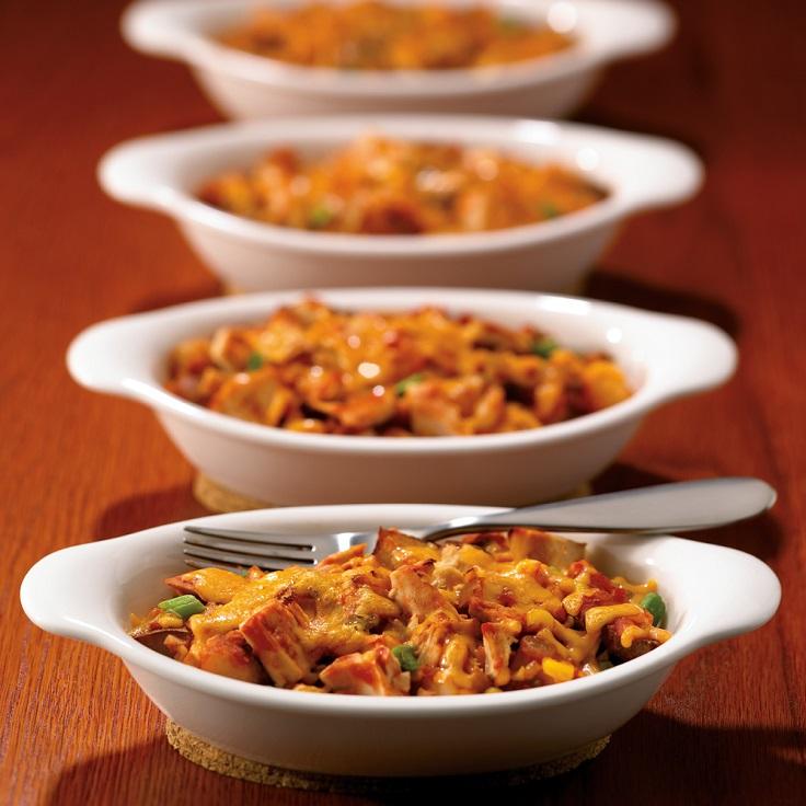easiest-dinner-recipes-Fiesta-Tuna-Potato-Casserole