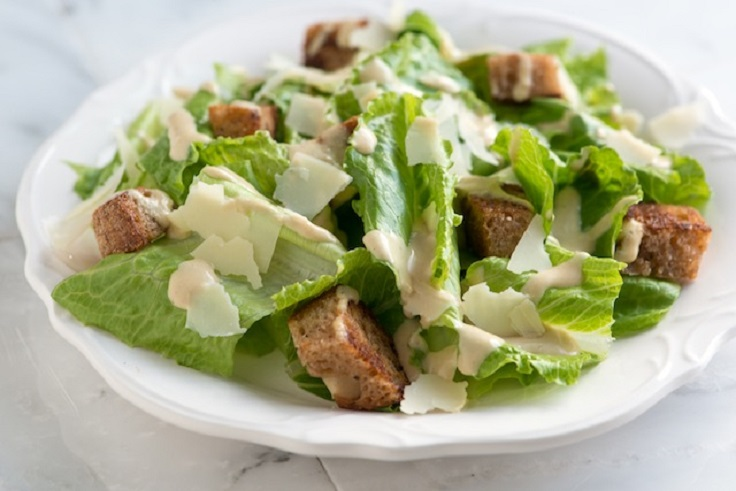 easiest-dinner-recipes-caesar-salad