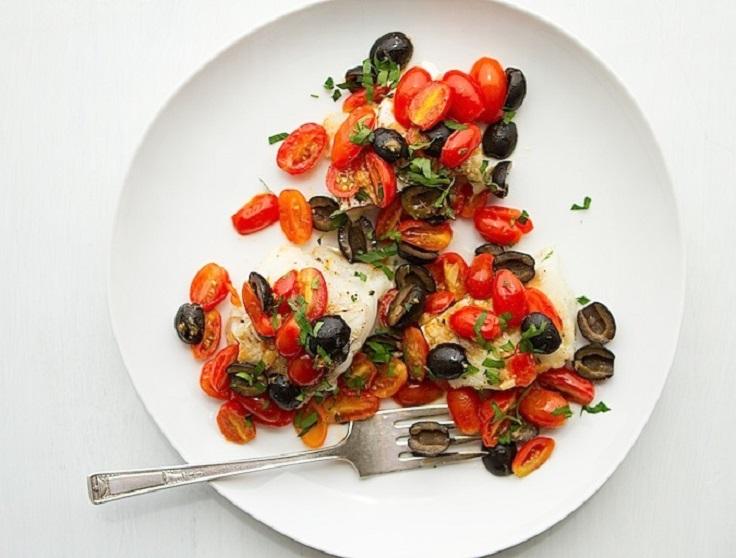 fish-fillets-with-warm-tomato-olive-vinaigrette