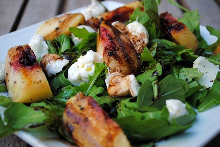peach-and-mozzarella-salad