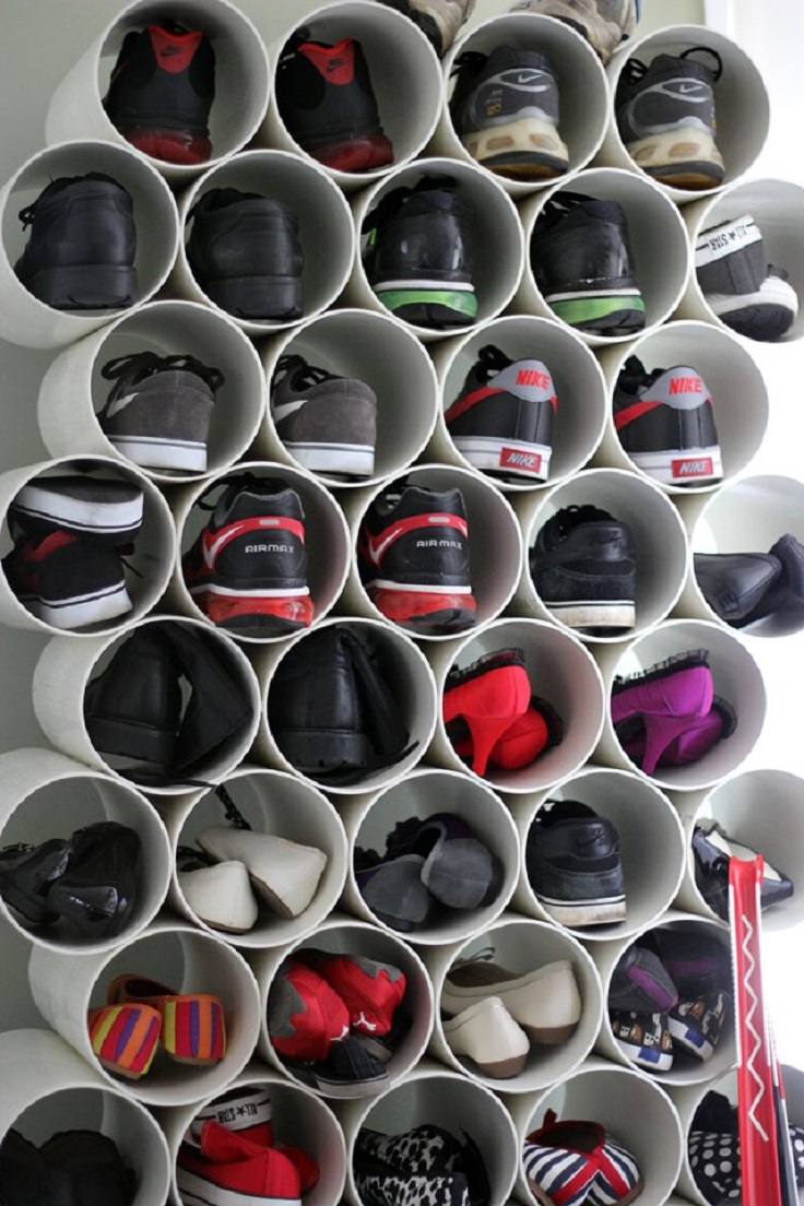 pvc-pipe-shoe-rack