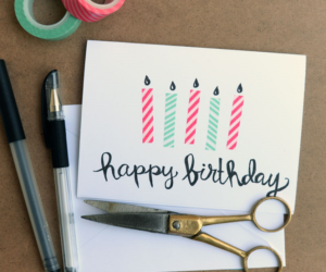 Top 10 DIY Birthday Cards Ideas That Are Easy To Make
