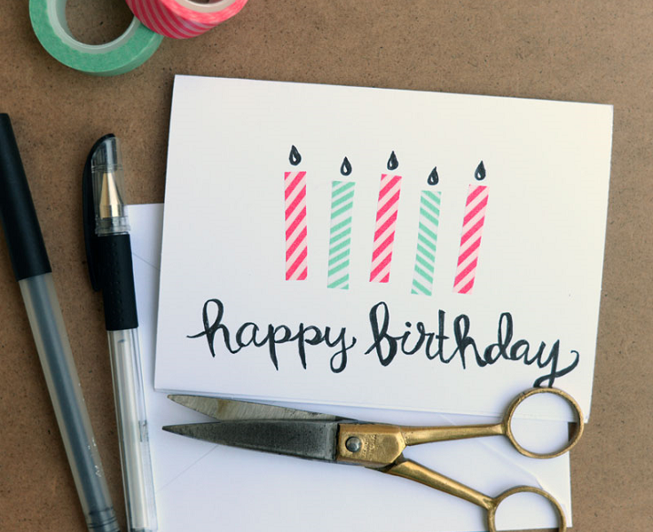 Top 10 DIY Birthday Cards Easy To Make Top Inspired – Unique Homemade Birthday Cards