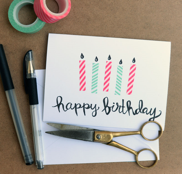 Diy birthday cards top 10 ideas that are easy to make for Easy diy birthday gifts