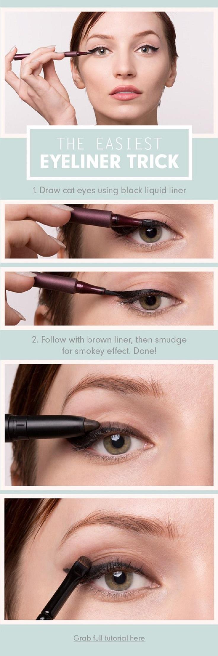 smudged-eyeliner-trick