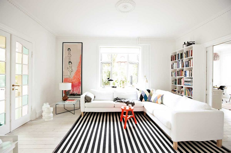 Top 10 ways to make a small living room look bigger top - Small living room rug ...