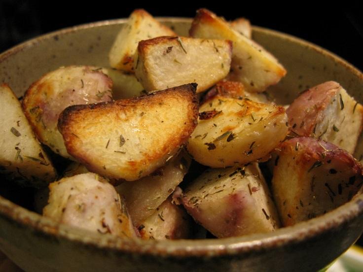 taro-roasted
