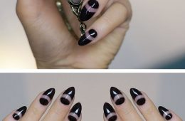 Top 10 Negative Space Nail Art Ideas | Top Inspired