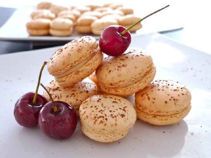 vanilla-macarons