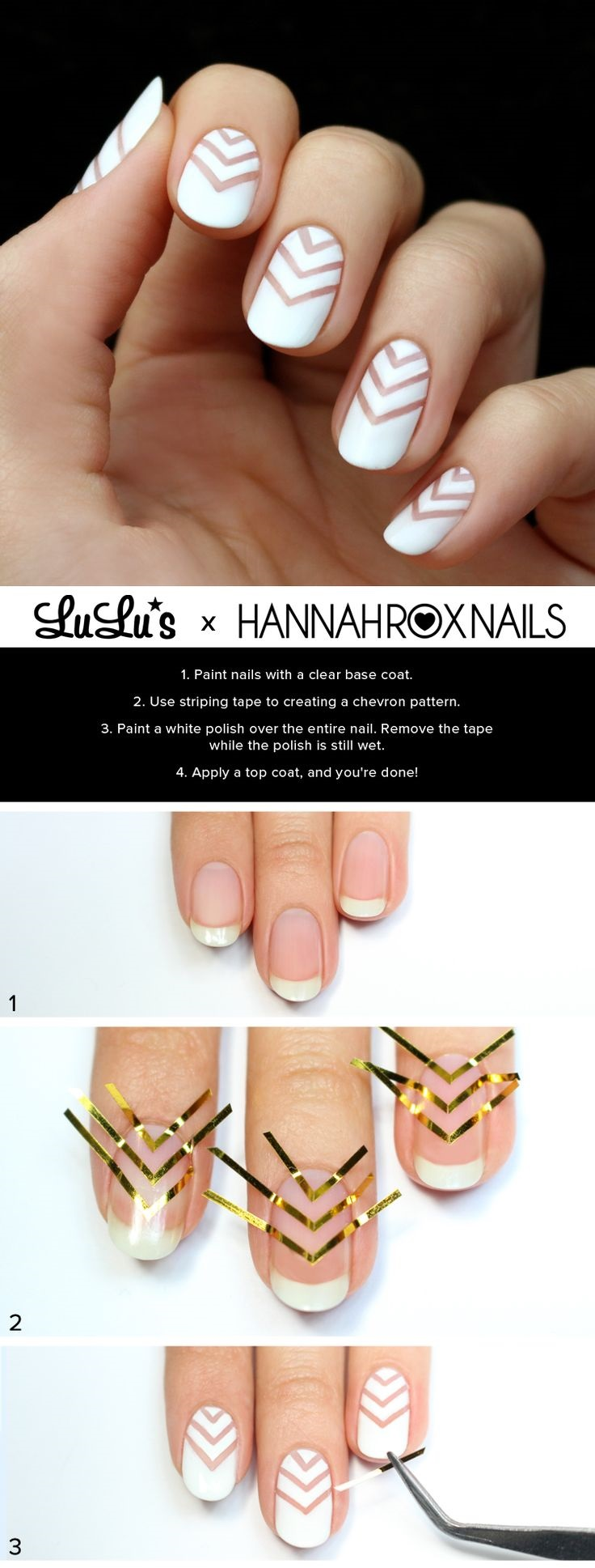 Top 10 Romantic Nail Tutorials For This Month | Top Inspired