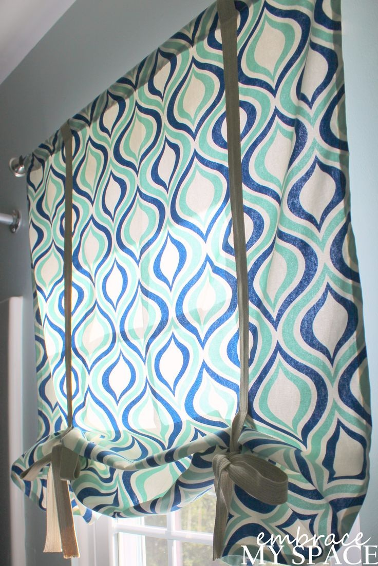 Top 10 DIY Roman Shades - Top Inspired