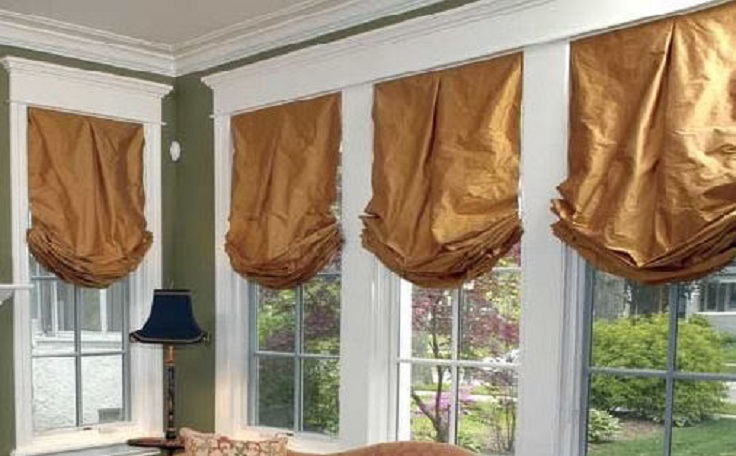 Ordinary Making Relaxed Roman Shades Part - 14: Top 10 DIY Roman Shades