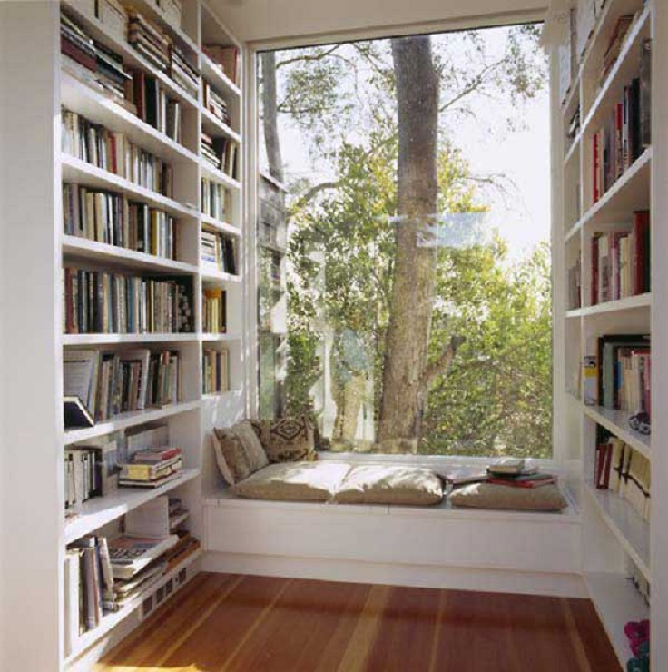 Top 10 Inspiring Home Library Design Ideas - Top Inspired