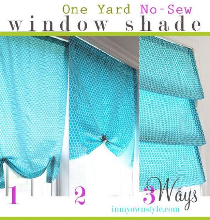 Top 10 DIY Roman Shades