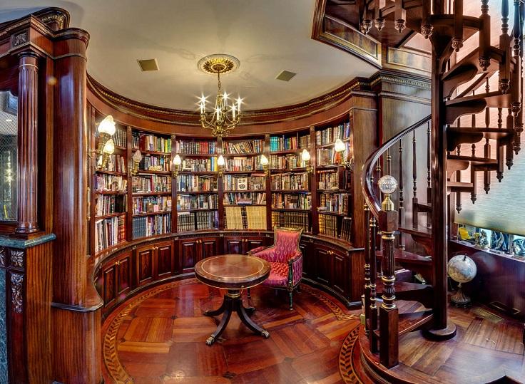 5-Spiral-Straircase-Home-Library-Design-Ideas