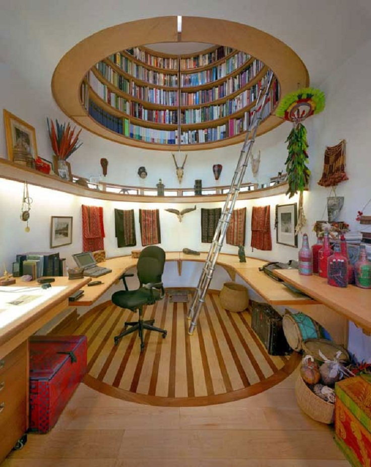 6-home-office-library-ideas