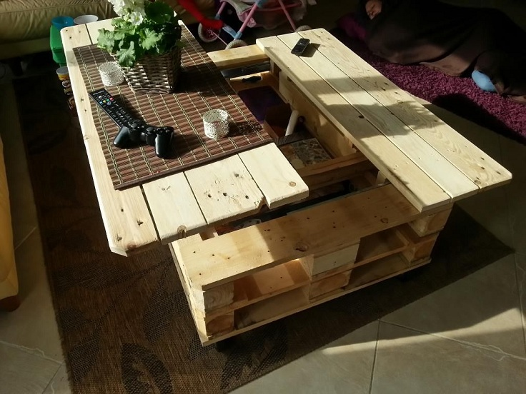 Unique Pieces Of Furniture. Top 10 Diy Projects That Will Turn Wooden  Pallets Into Unique Gallery