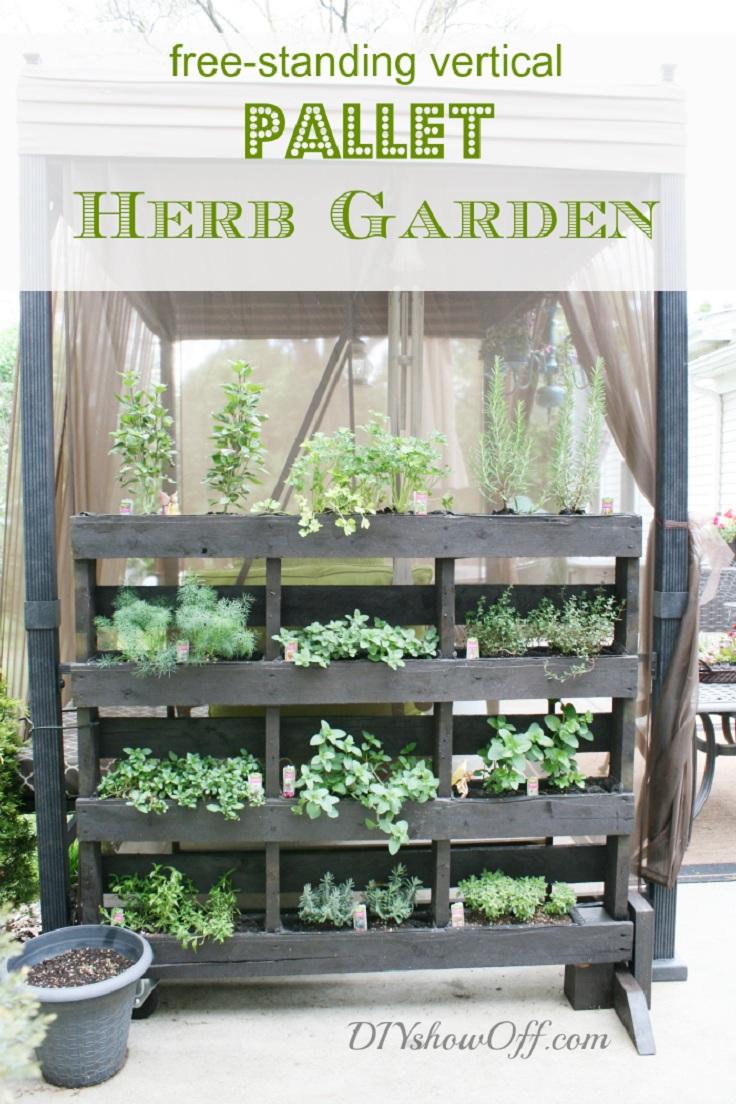 7-standing-vertical-pallet-herb-garden