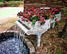 Garden-Piano-Fountain