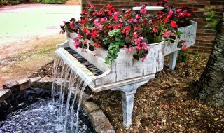 Garden-Piano-Fountain