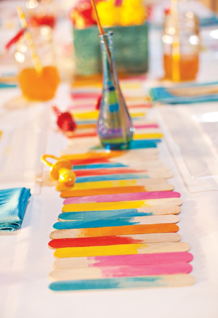 TOP 10 Spring Inspired Homemade Table Runners